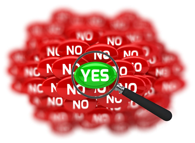 Yes No graphic