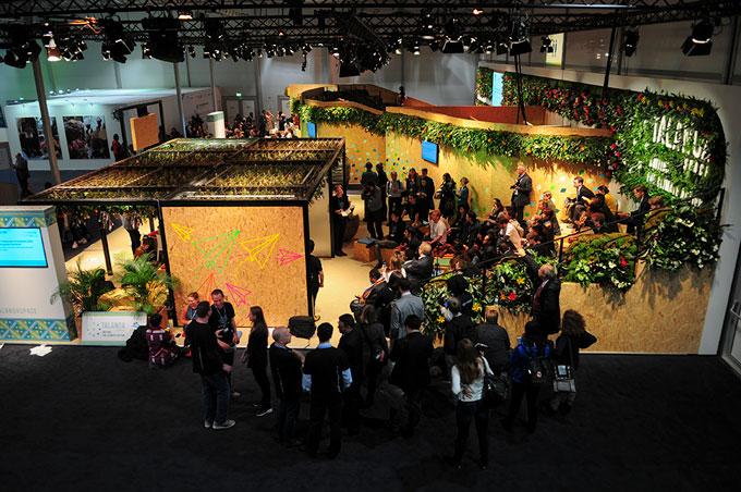 Talanoa exhibit at COP23