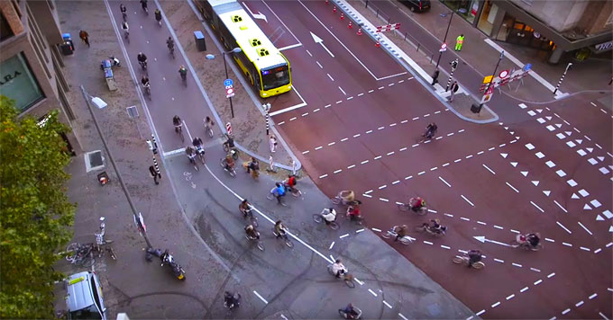 How a Dutch city became a cycling capital of the world