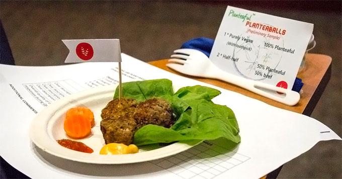 Meatless dinner