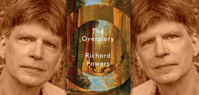 Richard Powers and book cover