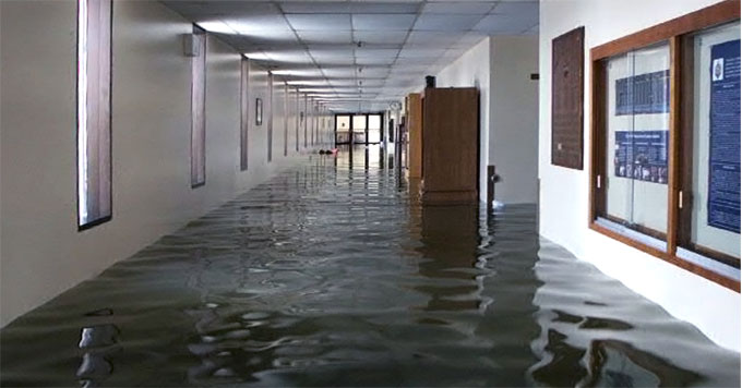 Naval Academy floodwaters