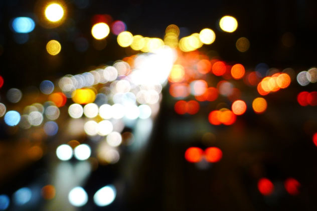 Traffic jam abstract