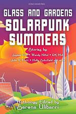 Solarpunk book cover