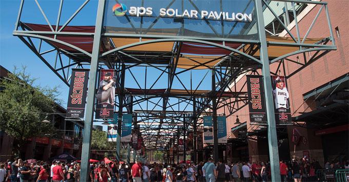 Solar pavillion