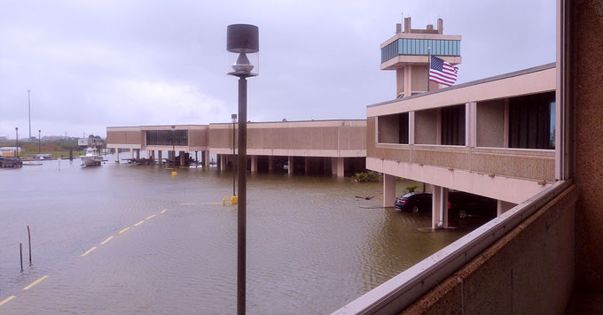 LUMCON flooding