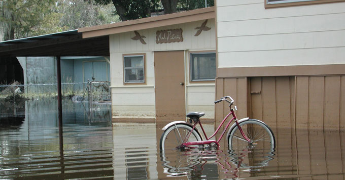 Residential flooding