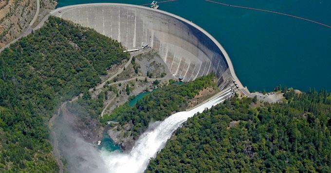 Yuba River dam