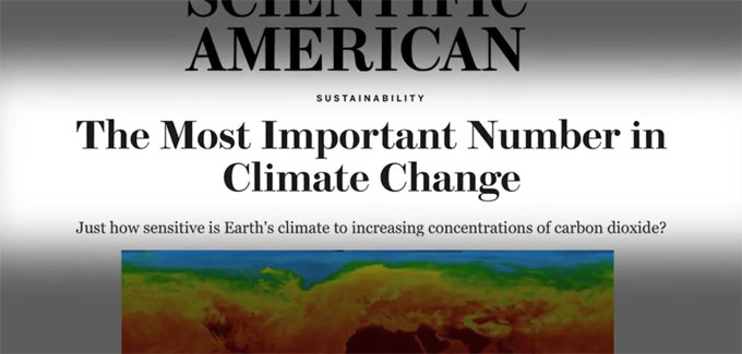 Climate sensitivity uncertainties leading to more concern