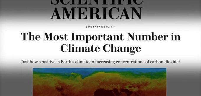 Scientific American headline