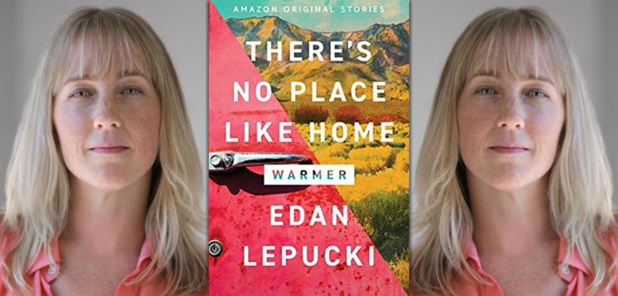 Edan Lepucki and book cover