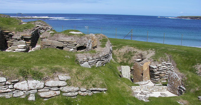 Skara Brae building remains