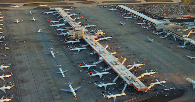 Atlanta airport prepares for more storms, droughts » Yale Climate