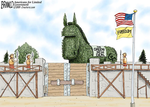 Branco cartoon