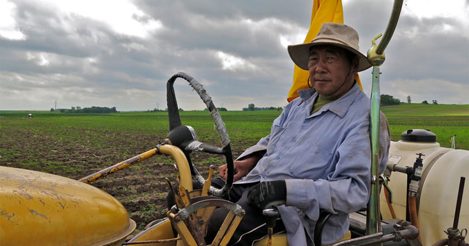 Hmong farmer
