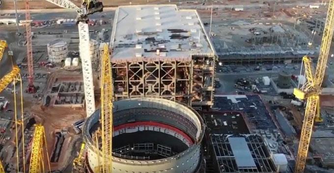 Nuclear facility construction