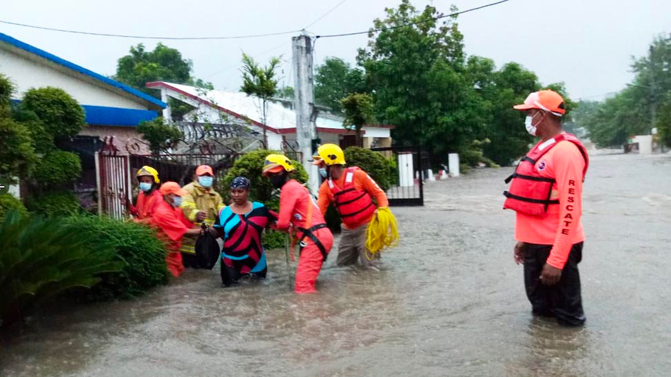 Flooding rescuers