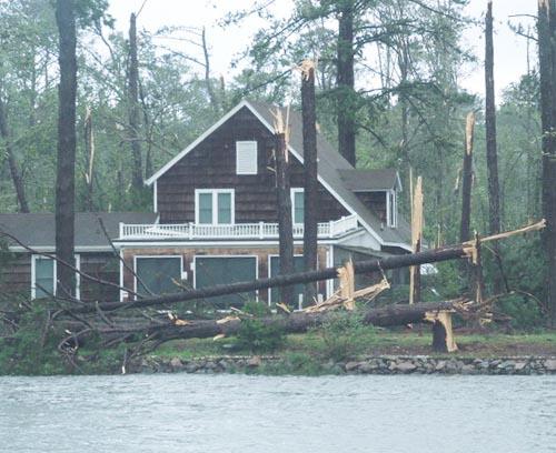 White Stone, VA damage
