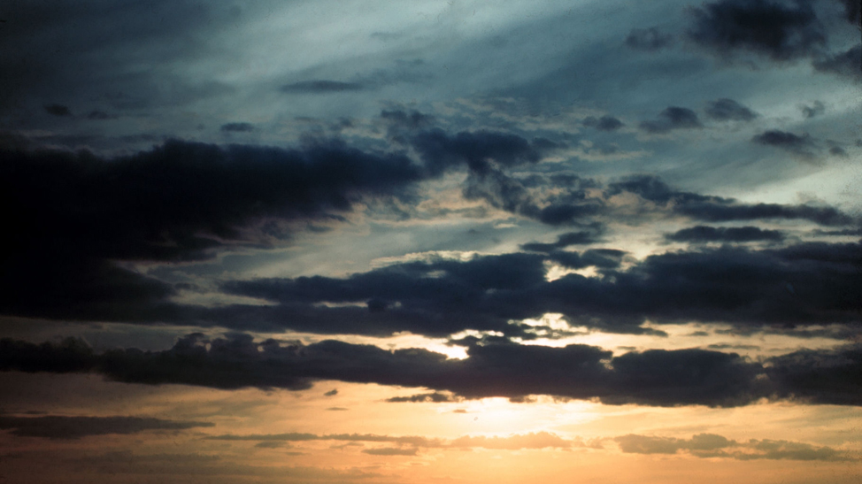 Sunset w/clouds