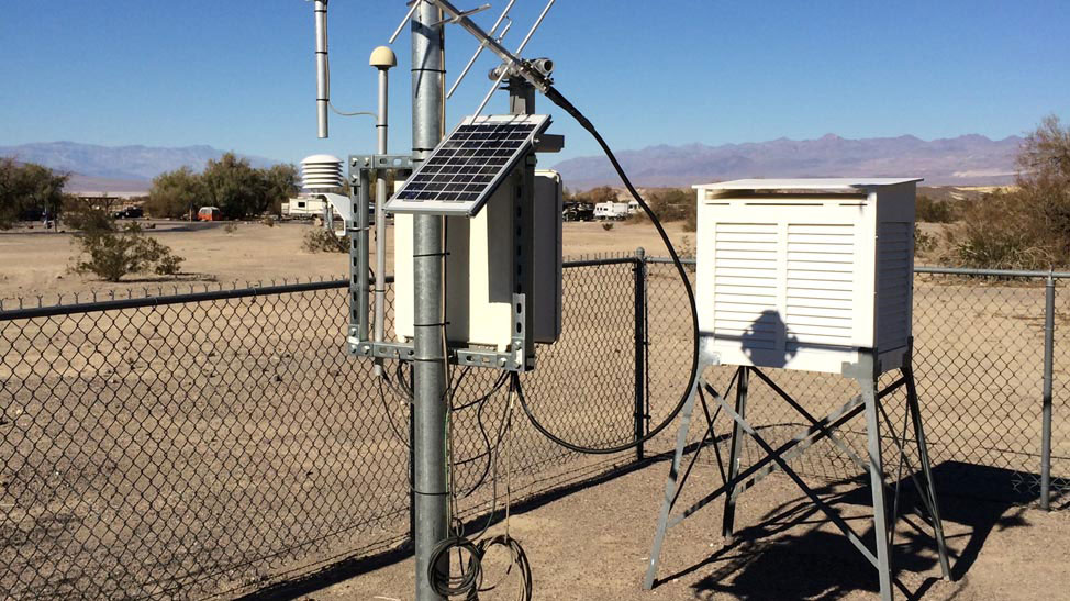 Death Valley weather station