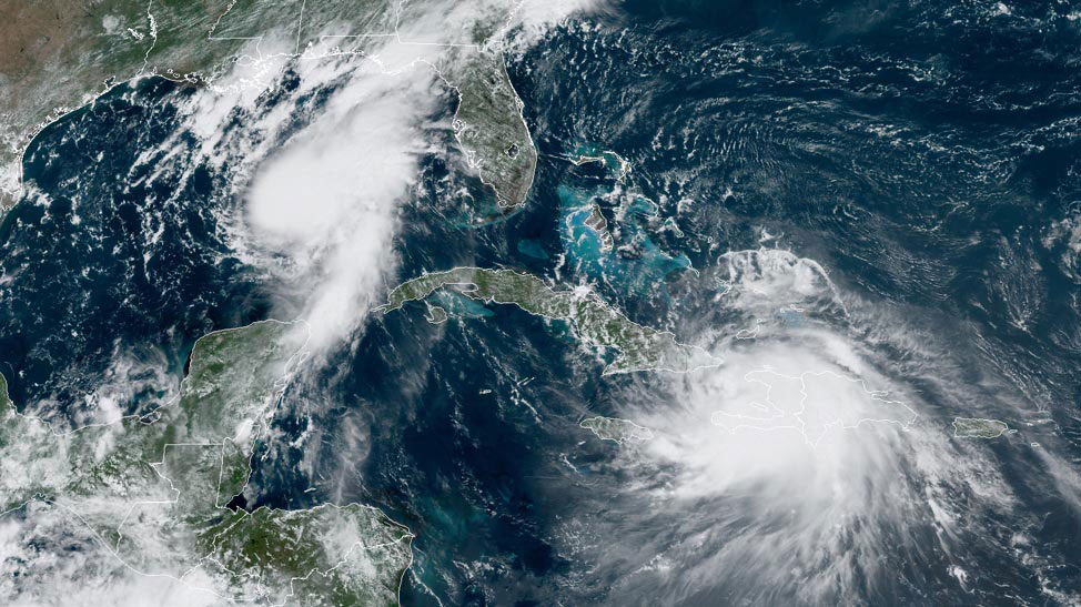 Hurricane Marco forms in Gulf of Mexico; Tropical Storm Laura a formidable threat to US – Yale Climate Connections