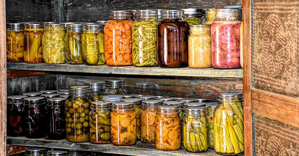 Preserved produce