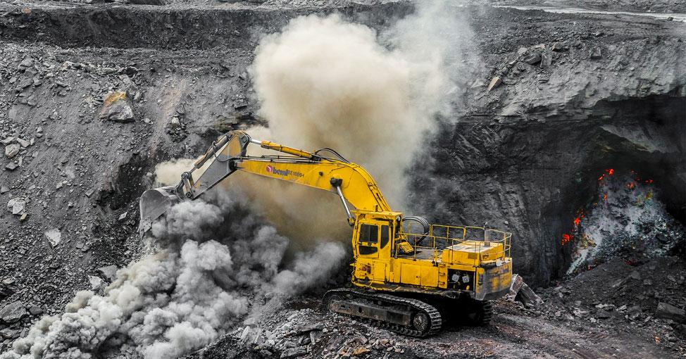Coal excavation