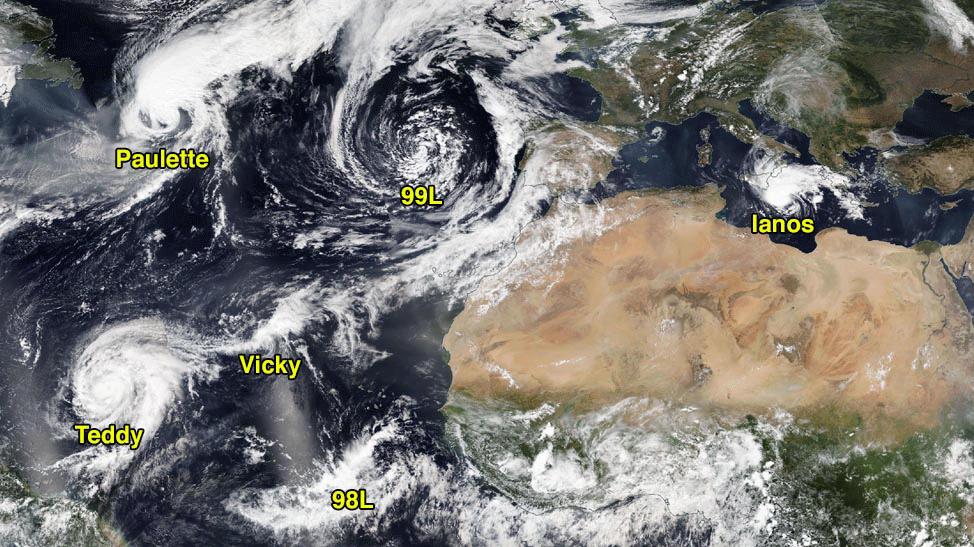Atlantic storms image