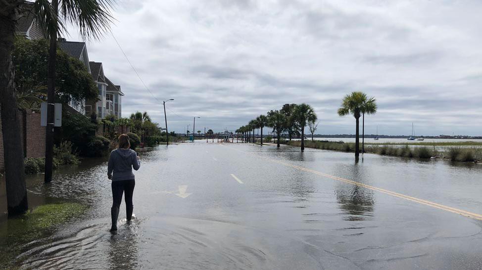 Charleston high tide flooding