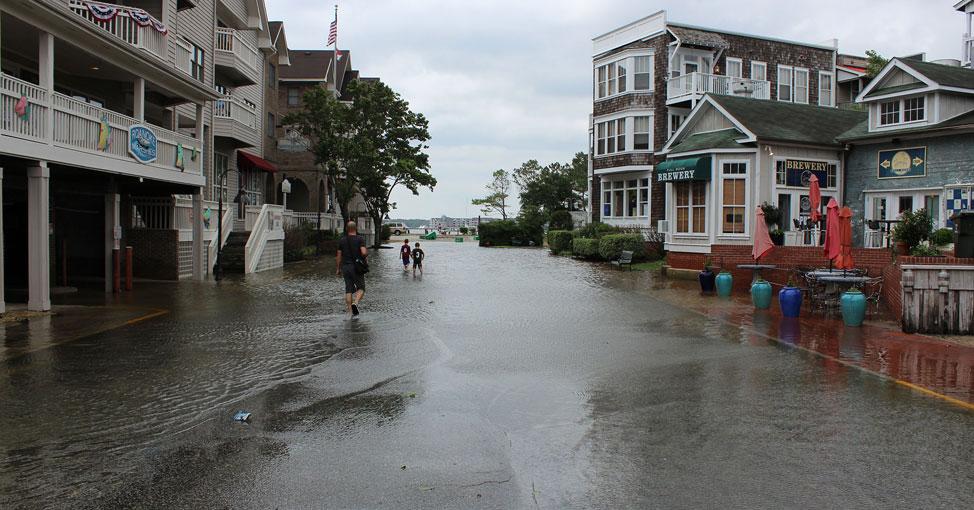 Manteo flooding