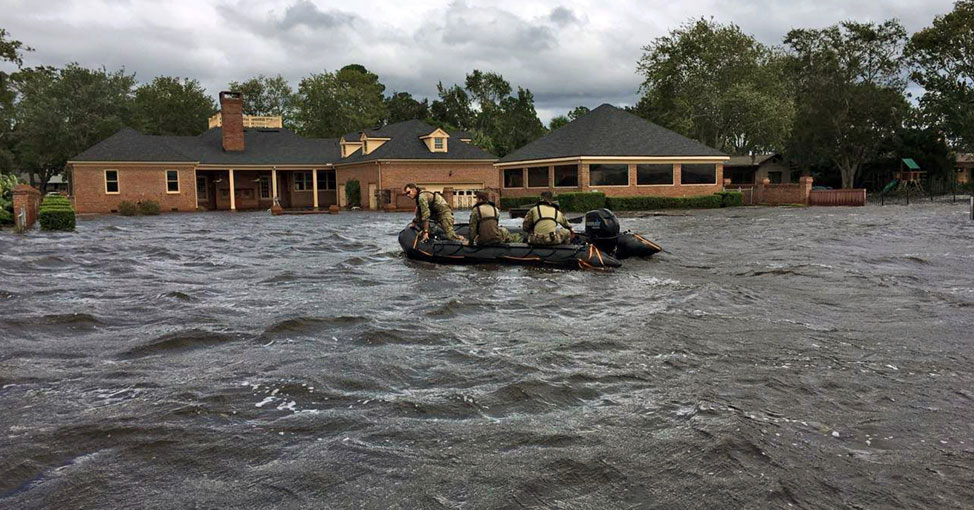 Flooding rescue