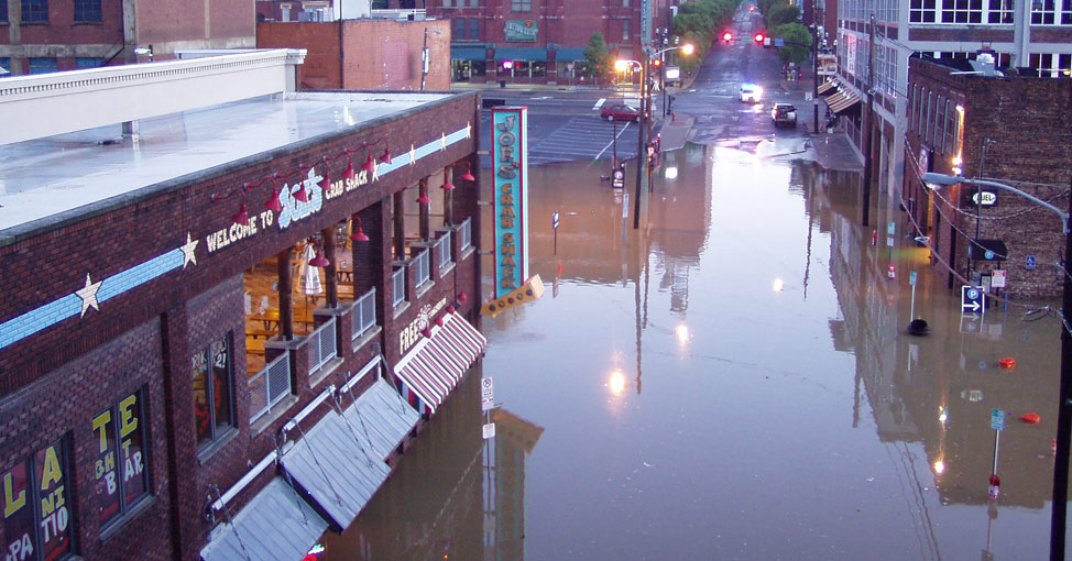 Flooding in Nashville