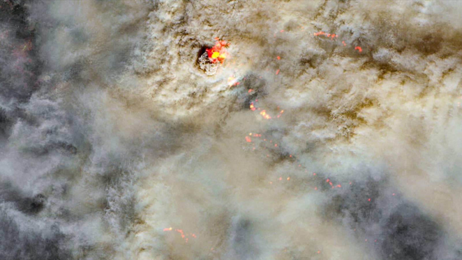 August Complex Fire