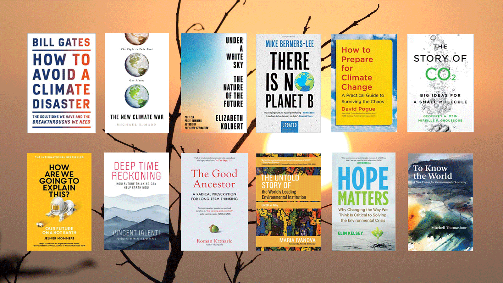 12 new books explore fresh approaches to act on climate change » Yale Climate Connections - Yale Climate Connections