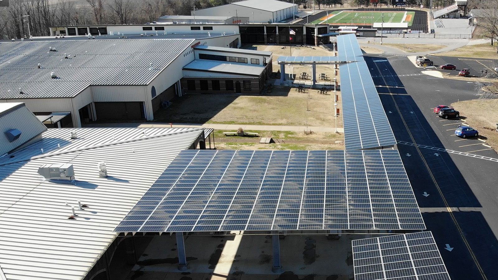 Batesville School District solar