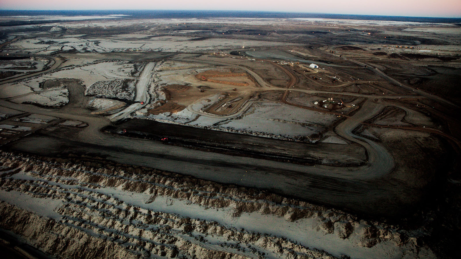 Fort McMurry Alberta oil sands