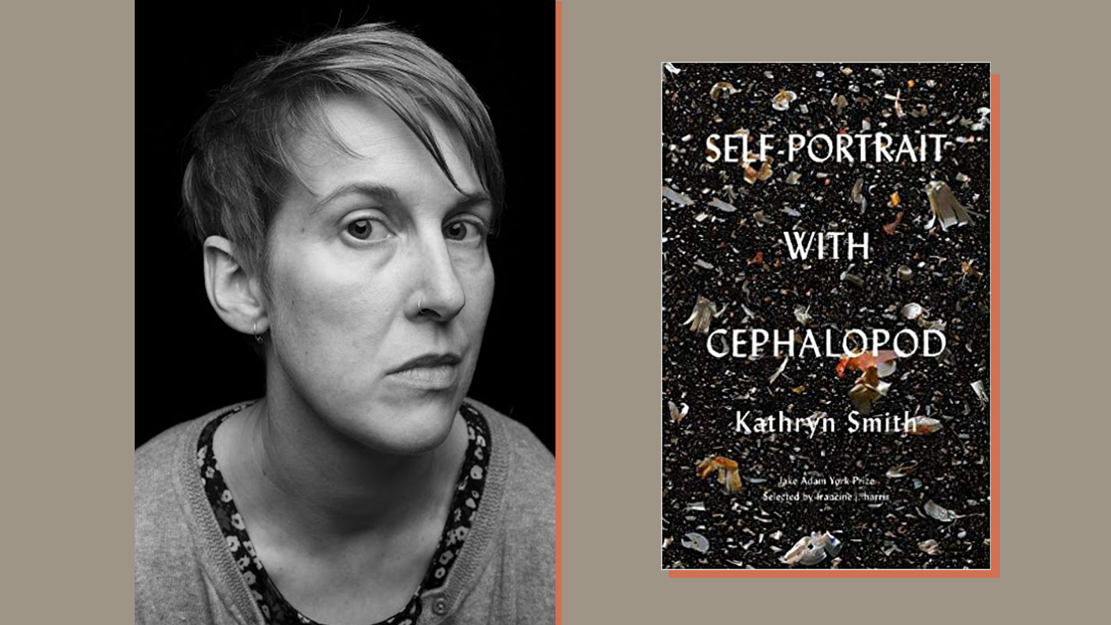 Kathryn Smith and book cover