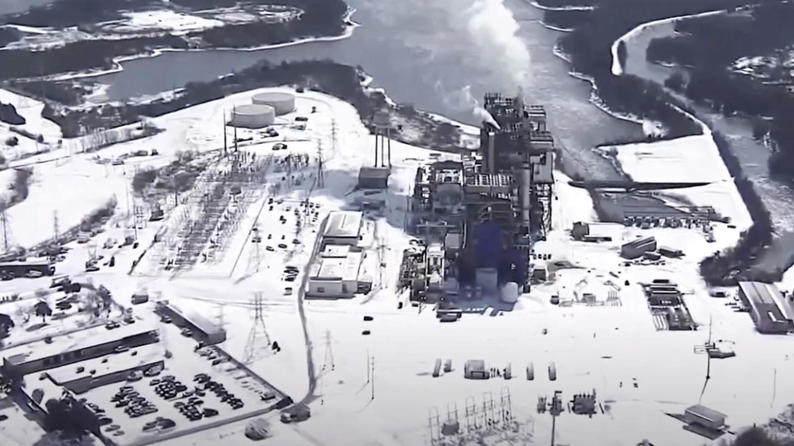 Texas power plant