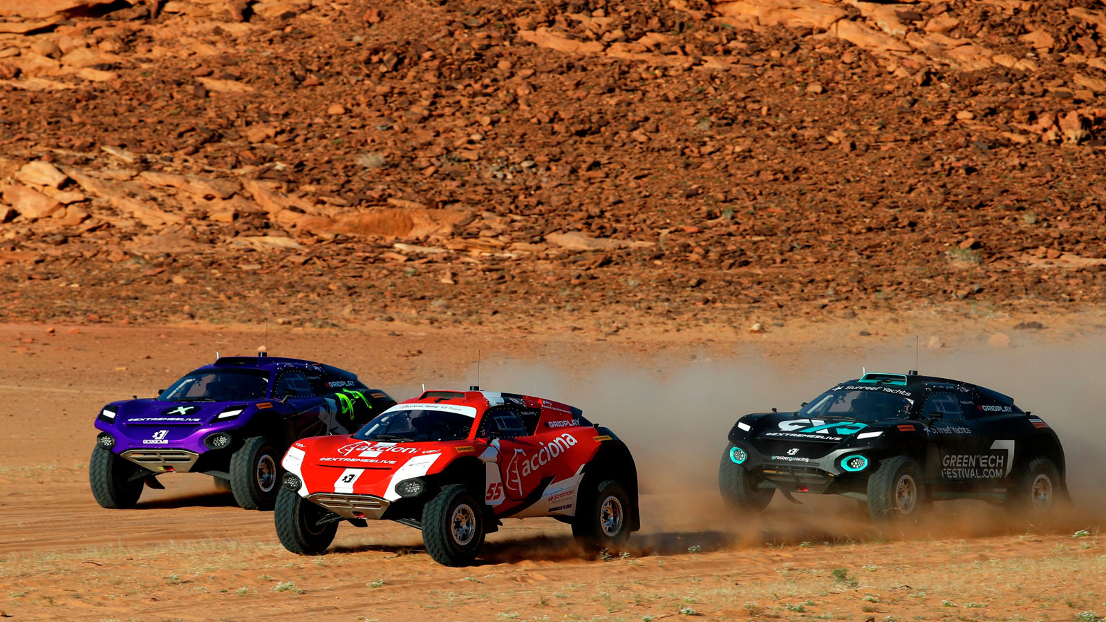 EV racing vehicles