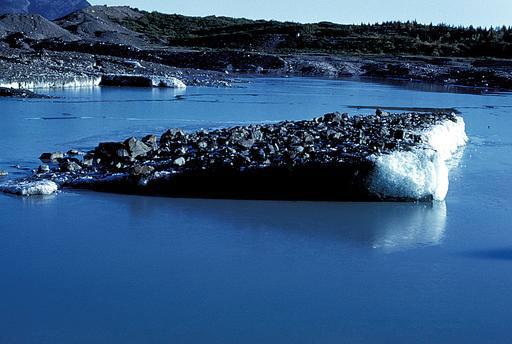 Iceberg debris