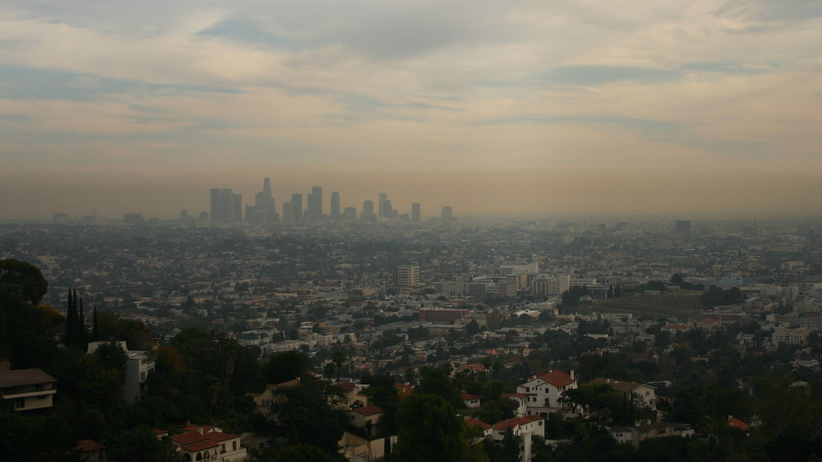 Smoggy air