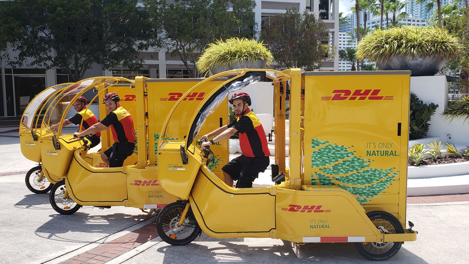 DHL cargo cycles
